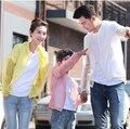 2015 Лето Стиль Женщины Новая Мода Любителей Длинным Рукавом Защита От Солнца Одежда Отцовства УФ Прозрачный Солнце Рубашка Куртка ZL0202