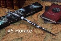 教授ホレスe. f. slughorn魔法の杖ハリーポッターコレクションウィザードスティックスリザリン校長コスプレおもちゃギフト#5