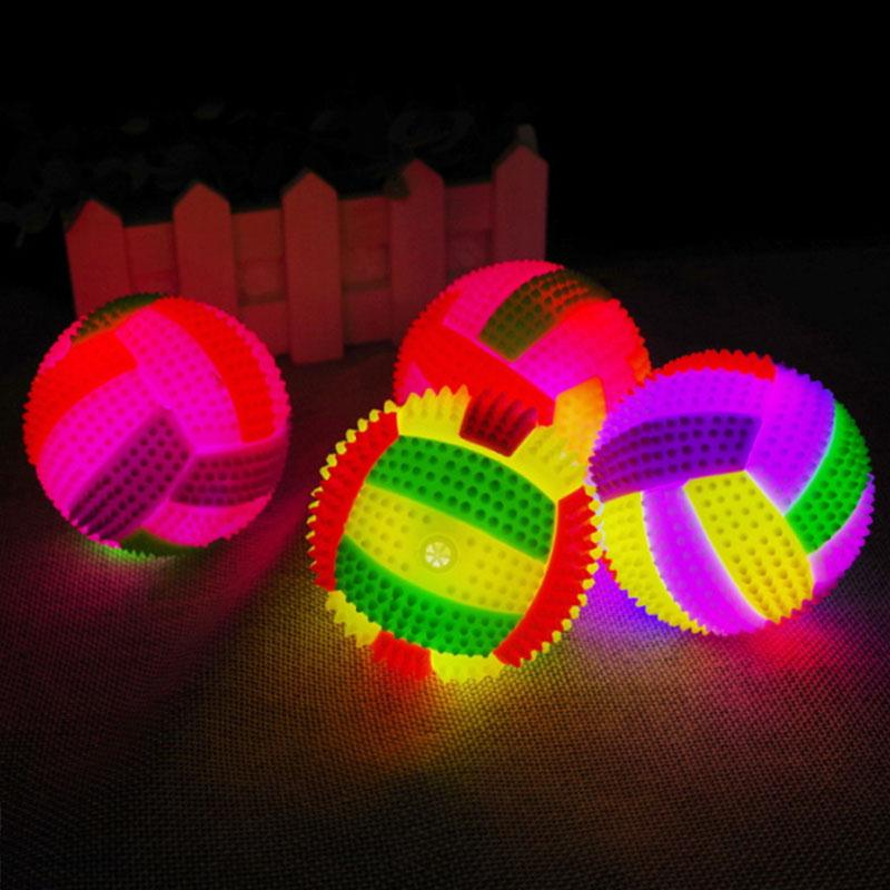 LED Volleyball Football Blinking Color Change LED Night Light Night Lamps For Bedroom Home Decor