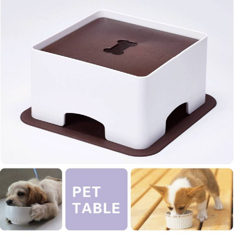 Home & Garden Lovely Pet Dogs &cats Table Dish Rack Height Adjustment According Dog Bowl Dog Height To Develop Good Eating Habits Dog Feeding