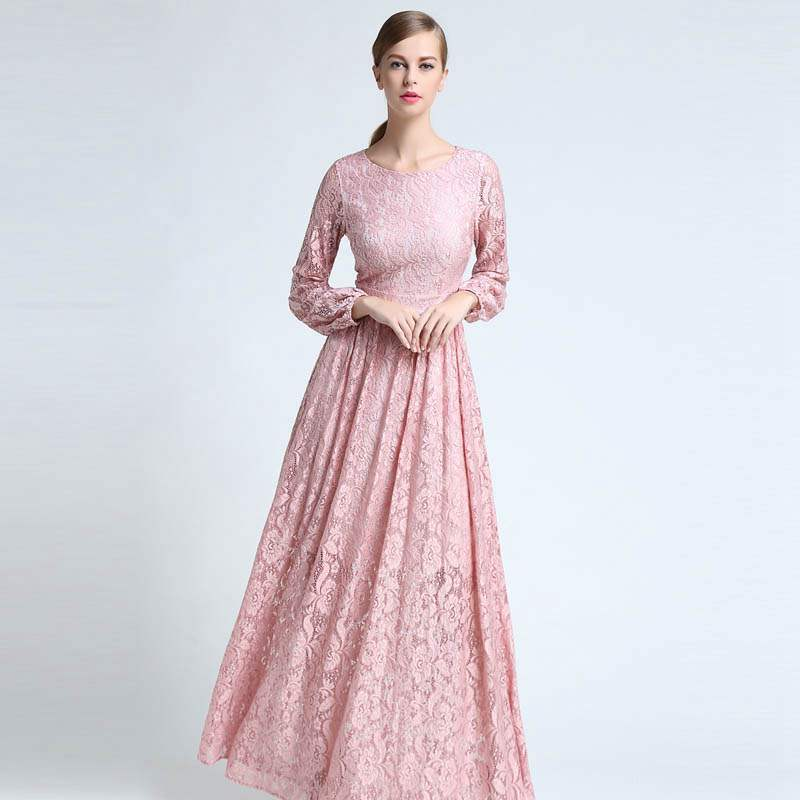 Full Sleeve Long Dresses