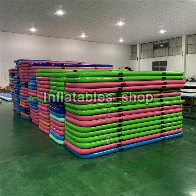 Livraison gratuite 3*1*0.1 m tapis gonflable gonflable de gymnastique de voie d'air de Trampoline de voie de dégringolade à vendre