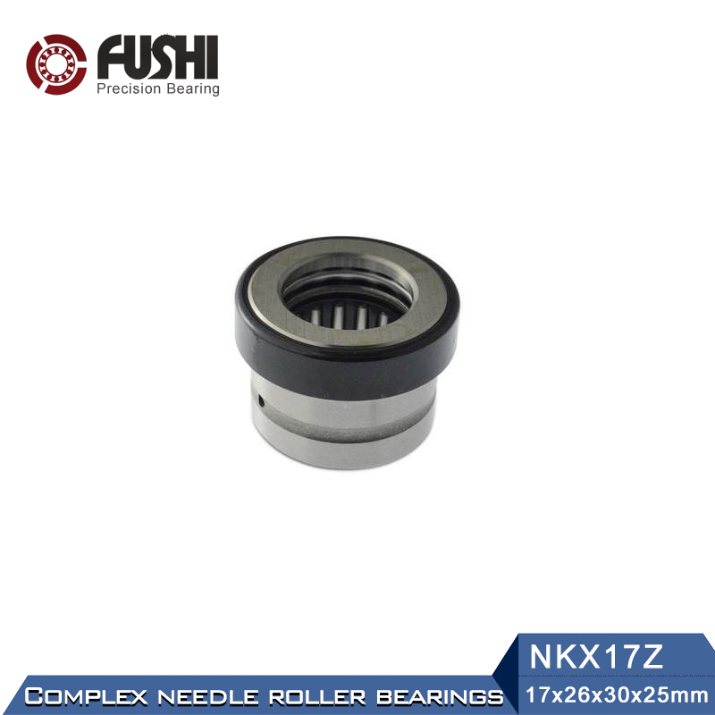 Combined Bearings NKX50Z NKX17Z NKX20Z NKX25Z NKX45Z ( 1 PC) Needle Roller Thrust Ball Bearing With Cage nk38 20 bearing 38 48 20 mm 1 pc solid collar needle roller bearings without inner ring nk38 20 nk3820 bearing