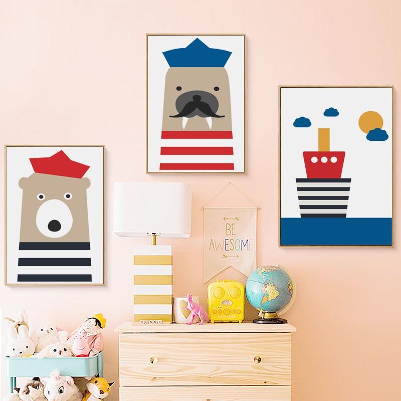 Seals, Bear, Art, Decoration, Paintings, Poster