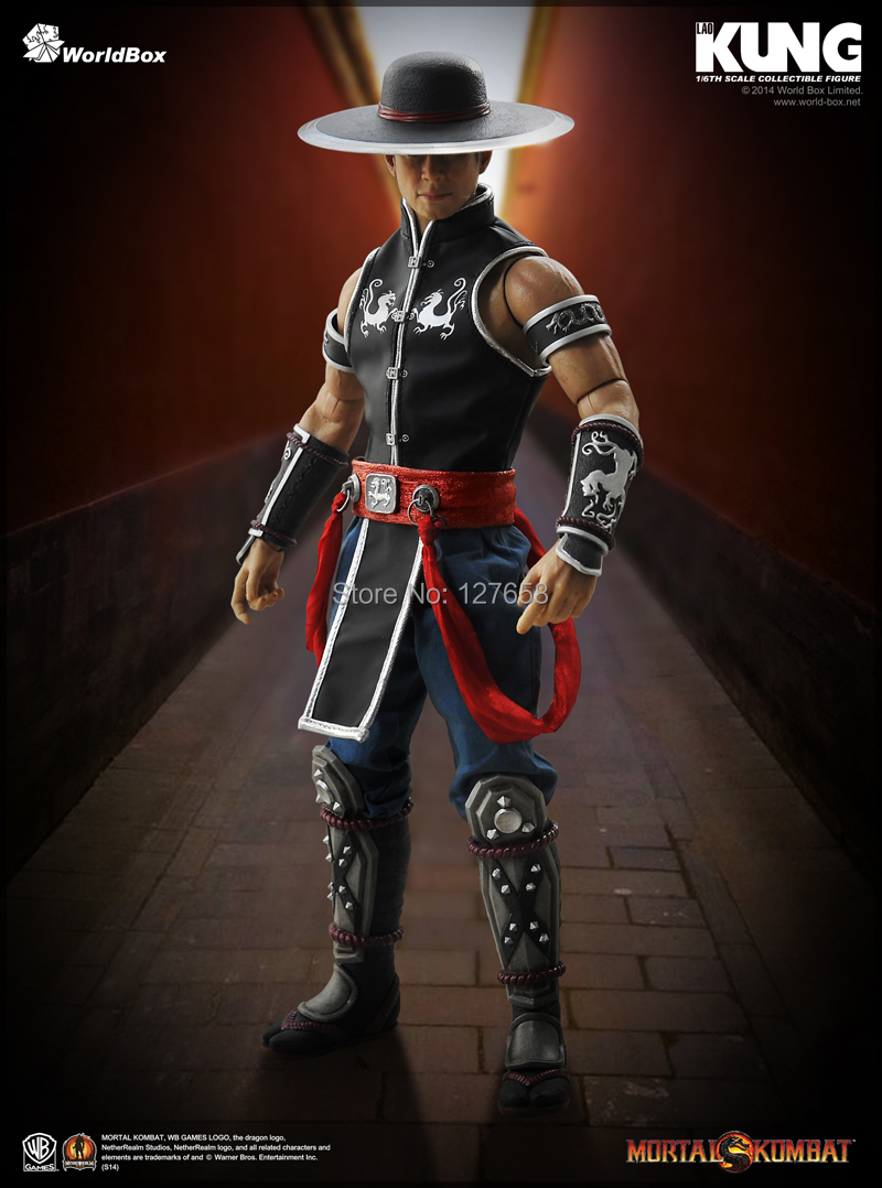 US $149 99 |Estartek Worldbox Mortal Kombat 1/6 Kung Lao SUB ZERO Action  Figure New Box for Holiday Gift-in Action & Toy Figures from Toys & Hobbies