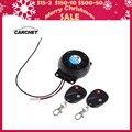 CARCHET Motorcycle Alarm 2 Remote Controls Anti-theft Security System Vibration Lock Burglar Alarm Dual Remote Control Sensor