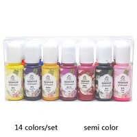 14colors/set Epoxy Resin Pigment UV Resin Coloring Dye Colorant Resin Pigment DIY Handmade Crafts Art Sets