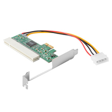 New PCI Express PCI E to PCI Adapter Card Asmedia 1083 Chipset Green AC385 IJS998
