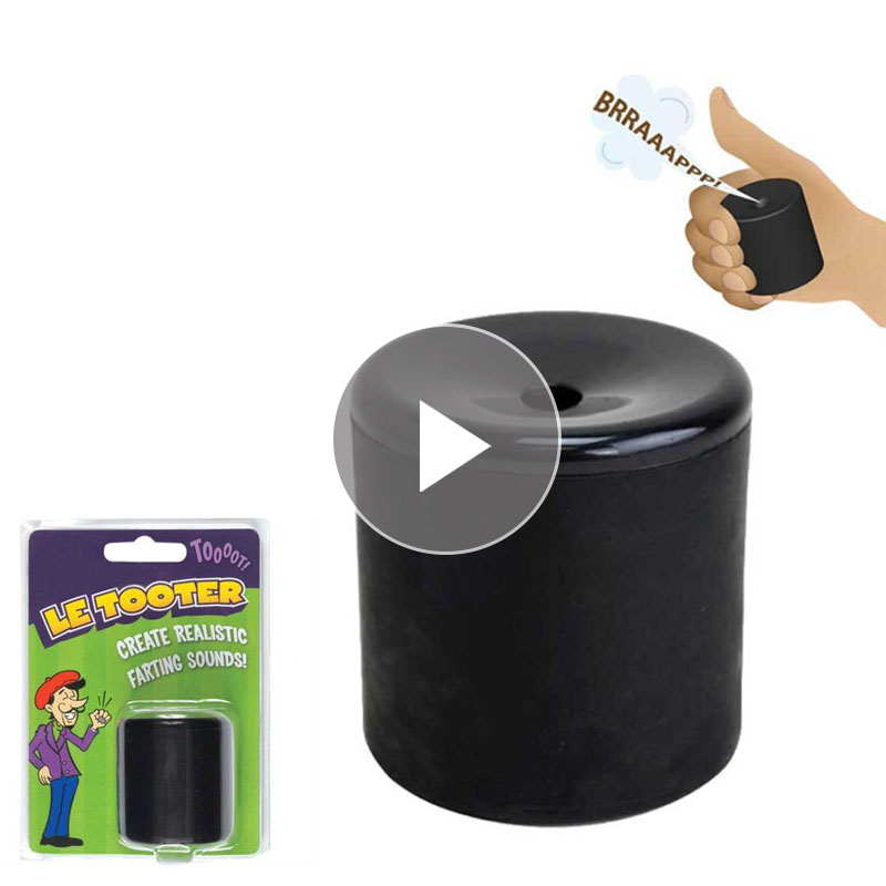 Le Tooter Sound Voice Real Fart Tube Squeeze Fart Bucket Exotic Creative Magic Props Toy Prank Squishies Stress Toy Gag Gift