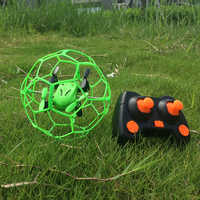 Mini Drone Kugelförmigen RC Drohnen Schutzhülle 3D Flip RC Ball 2,4 GHz Rc Quadcopter Headless Modus Spielzeug Copter Schutzhülle abdeckung