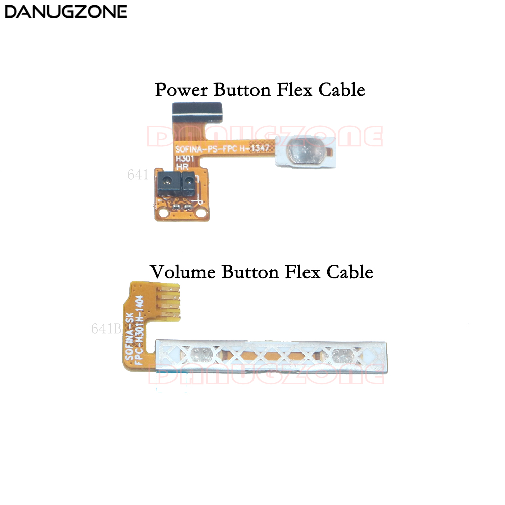 Power Button Switch Volume Button Mute On / Off Flex Cable For Lenovo S650