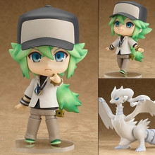 New Nendoroid  Brock Charmander #425 Reshiram #537 Cynthia #507 PVC Action Figure Toy Doll 4 10cm