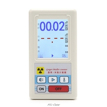 лучшая цена Counter Nuclear Radiation Detector Dosimeters Marble Tester With Display Screen counter Radioactive detector