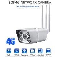 1080 P Full HD 4G смарт камера с Wi Fi обнаружения движения Ночное видение водостойкий пистолет Тип безопасности Камера с двойной антенны