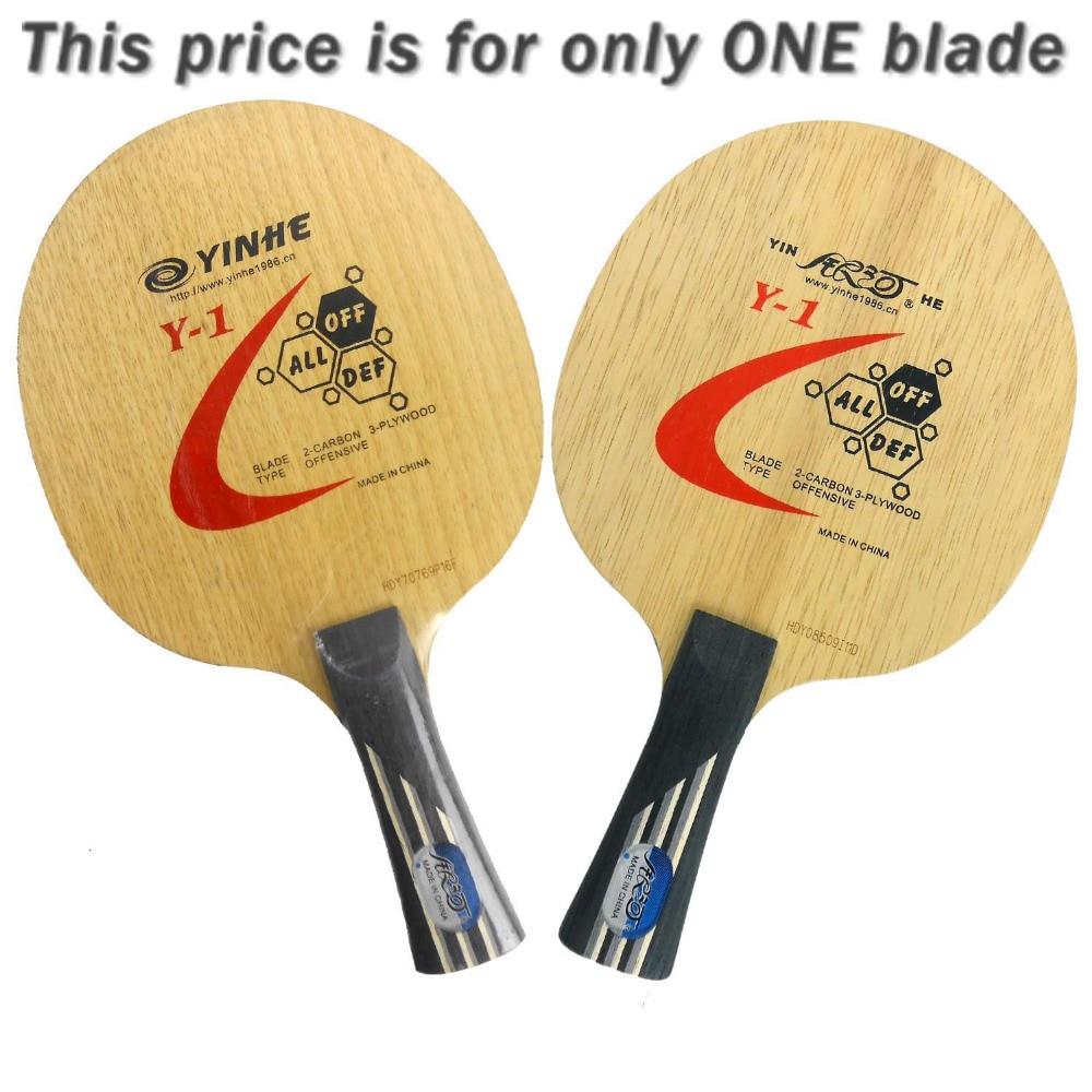 e94258367 Ping pong para Pingpong raqueta galaxia Vía Láctea yinhe y-1 y 1 Y1 ataque y  Loop off 3 + 2 ply raqueta deportes