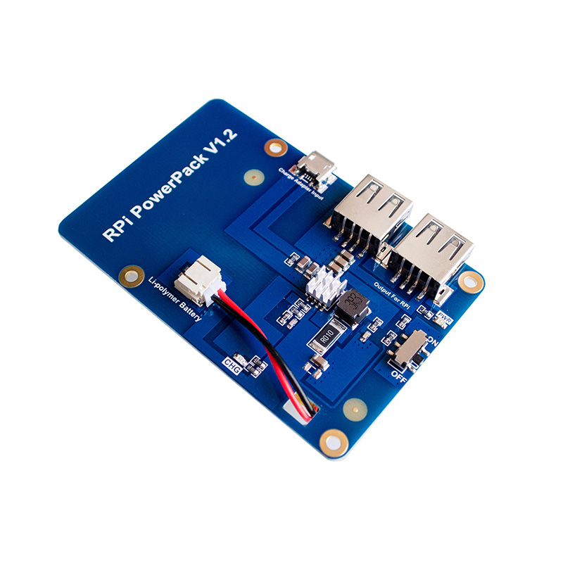 Lithium <font><b>Battery</b></font> Pack Expansion Board Power Supply with Switch for <font><b>Raspberry</b></font> <font><b>Pi</b></font> <font><b>3</b></font>,2 Model B,1 Model B+ Banana <font><b>Pi</b></font> without <font><b>battery</b></font>