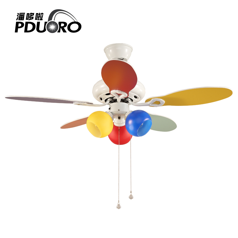 40inch Modern Ceiling Fan Lights Restaurant Living Room Home European Style Lamp Children Remote Chandel Control Hanging In Fans From