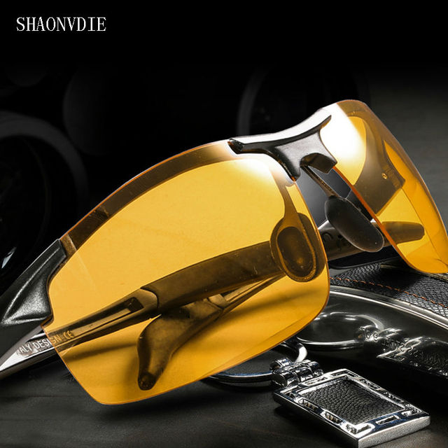 5c9c1162ee 2016 Day Night Vision Goggles Driving Polarized Sunglasses for men s car Driving  Glasses Anti-glare