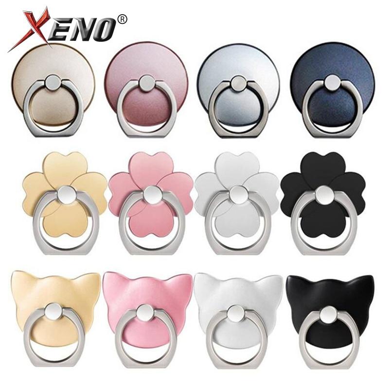 Mobile Phone Ring Holder Stand Finger Ring for All Cell Phone Tabelt Universal Plain Color/Transparent Adjustable angle Holder