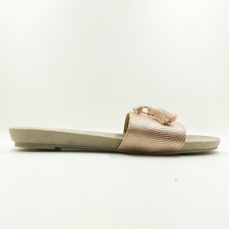 Neue 2018 Schuhe Damen Schuhe Sommersandalen Perlen und Blumen - Damenschuhe - Foto 2
