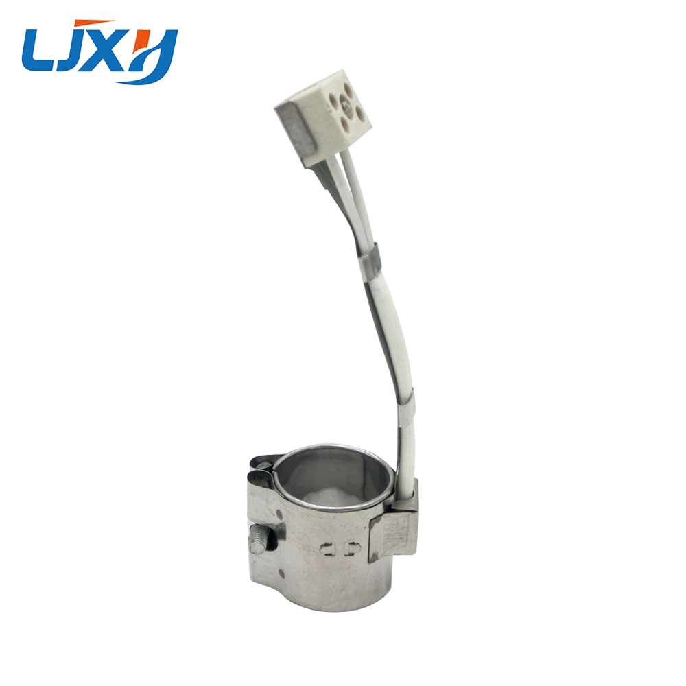 LJXH 2PCS Band Heater 35x45mm/35x50mm/35x55mm/35x60mm Stainless Steel, Ceramic Heating Element AC220V 150W/160W/180W/200WLJXH 2PCS Band Heater 35x45mm/35x50mm/35x55mm/35x60mm Stainless Steel, Ceramic Heating Element AC220V 150W/160W/180W/200W