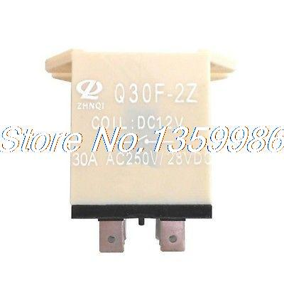 10pcs JQX-30F 2Z DC 12V Coil 30A 250V AC Power Relay 8 Pin DPDT hot new relay jqx 105f 4 220a 1hst 220vac jqx 105f 4 220a 1hst hf105f 4 220a 1hst 220vac ac220v 30a 240vac dip4 10pcs lot