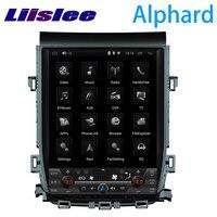 LiisLee Car Multimedia GPS Hi Fi Audio Radio Stereo For TOYOTA Alphard Vellfire AH20 2008~2015 Original Style Navigation NAVI