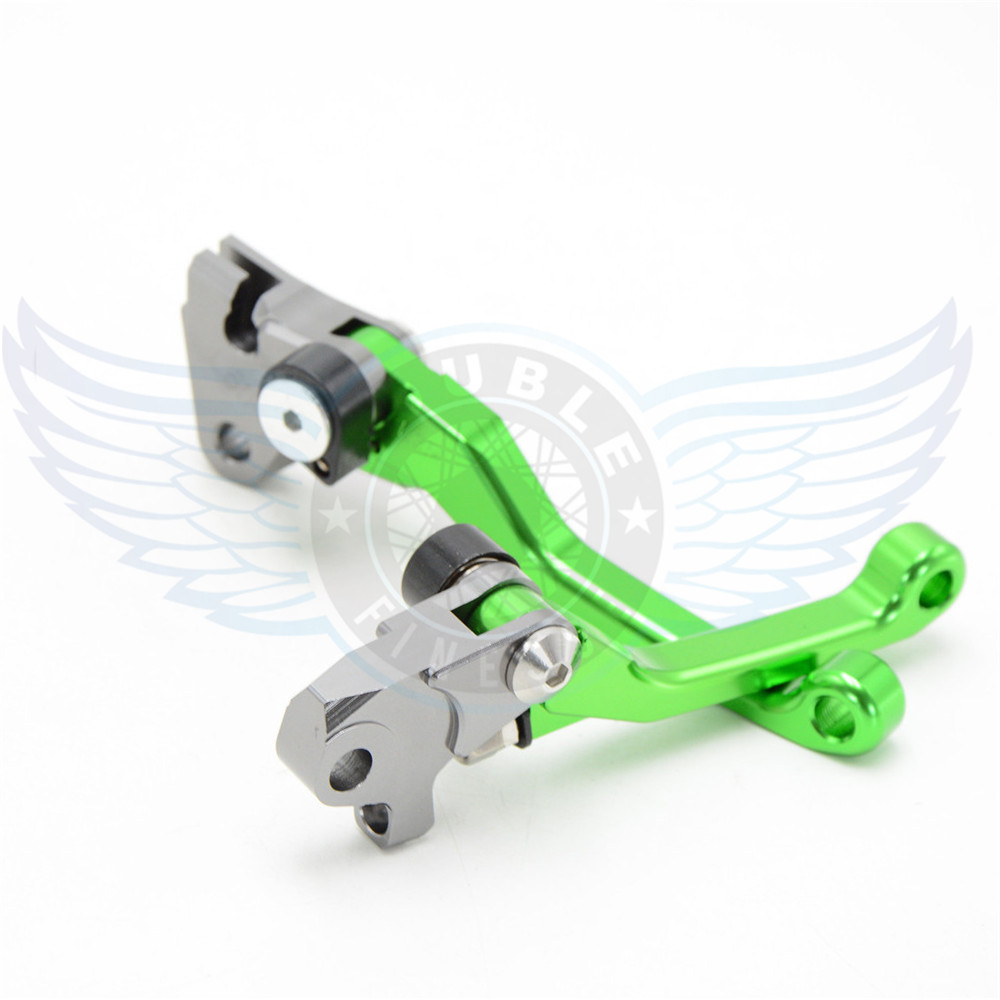 ФОТО motorcycle Pivot Brake Clutch Levers CNC levers brake clutch  For Yamaha YZ250F 2007 2008