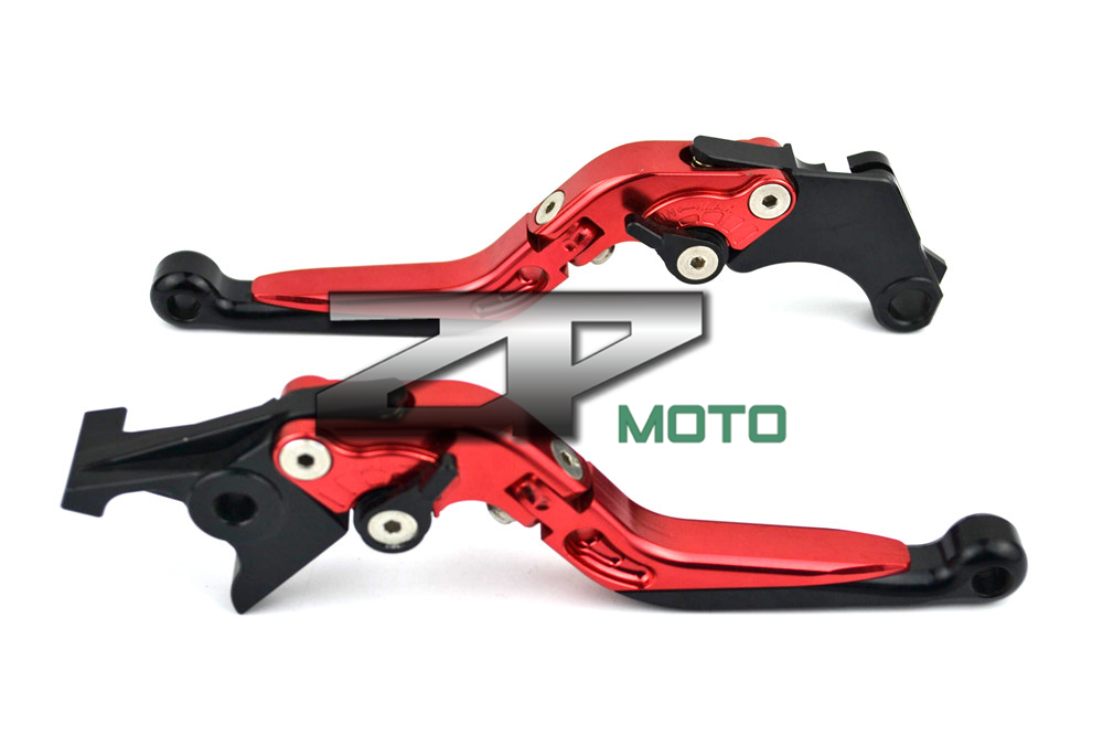 Adjustable Folding Extendable Brake Clutch Levers For Triumph Sprint GT Thruxton TIGER 1050 TIGER 800/XC ROCKET 8 Colors