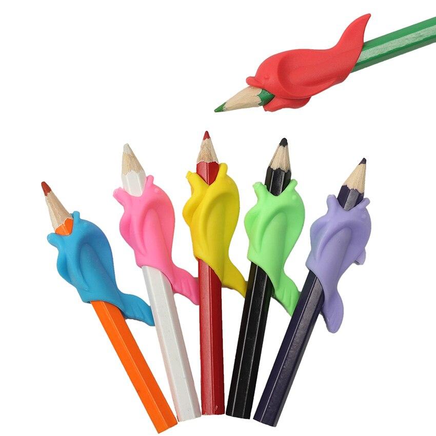 20 шт. уникальные и новые студенты держать ручку держать практика устройства канцелярские принадлежности для коррекции ручка Postures Grip
