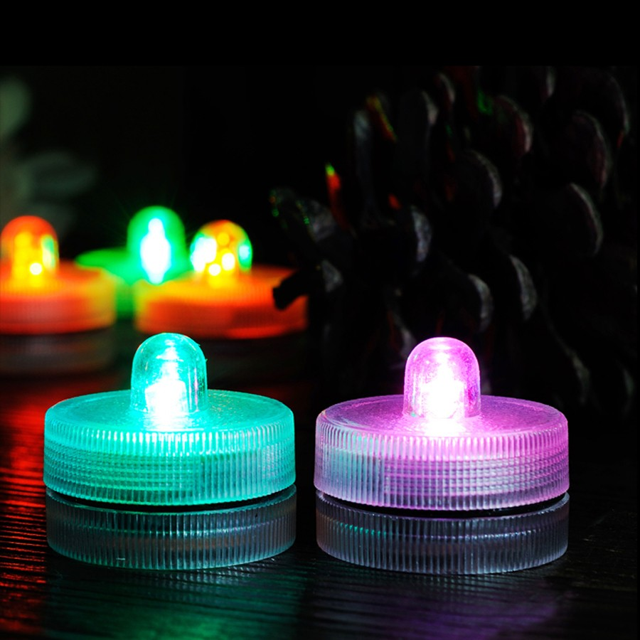 Waterproof Submersible LED Tea Light Electronic Candle Light (9)