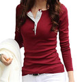 New Tee Shirt Femme Long Sleeve Shirts For Women Slim Basic T Shirt Women Plus Size Tshirt Tops ZMF789562
