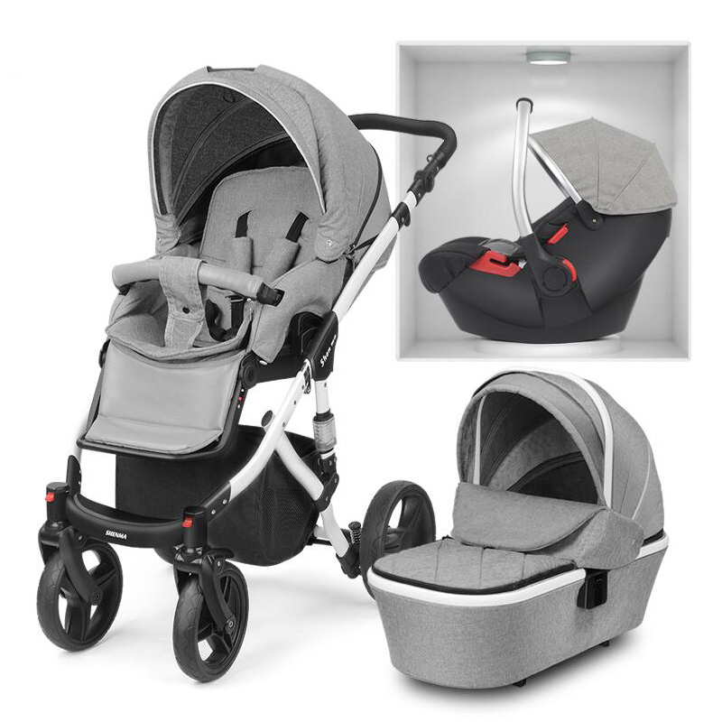 2018 New baby stroller 2 in 1 3 in 1 Child car seats Russia free shipping Free shipping in