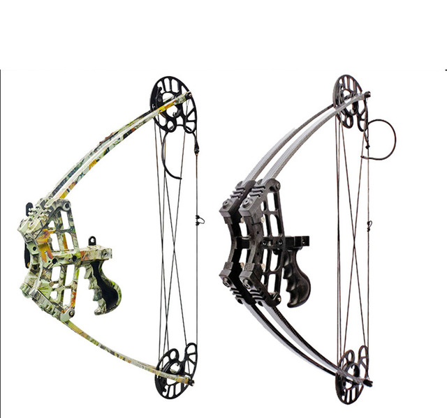 US $36 33 21% OFF|2018 Hottest Compound Bow Draw weight 45 lbs 1 5kg  Compound Bow IBO 240 fps for Both Right and Left handed Triangle Bow-in Bow  &