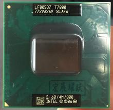Intel Core 2 Duo T7800 notebook  CPU Laptop  processor CPU  PGA 478 cpu 100% working properly
