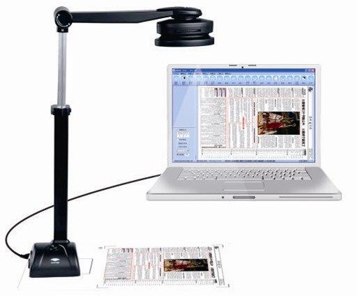 Eloam 5 миллионов пикселей быстрая и простая камера для документов/Сканер OCR для документов, книг, 3d-объектов и визуализатор высокой четкости