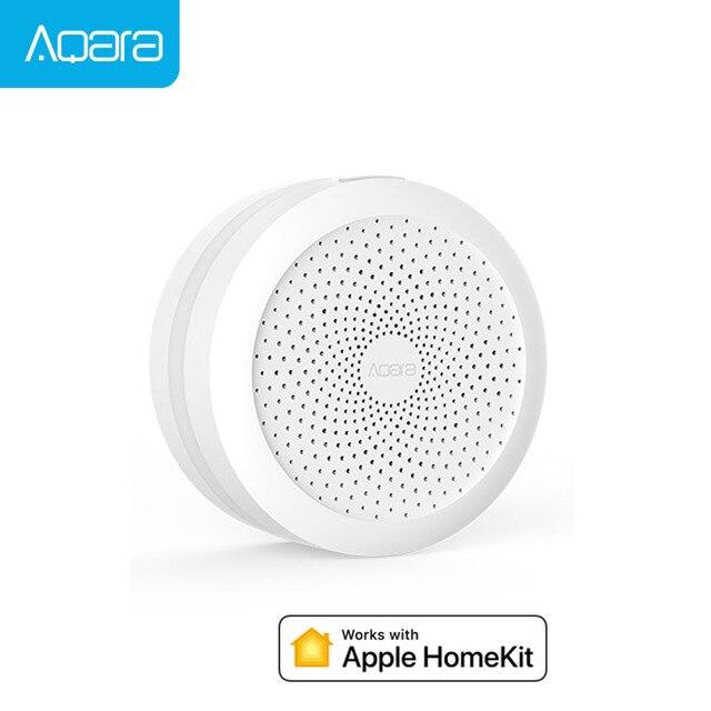 US $40 39 20% OFF Xiaomi Mijia Aqara Mi Gateway Aqara Homekit Hub Mi Smart  Home Sensor For Apple Homekit International Edition -in Smart Remote
