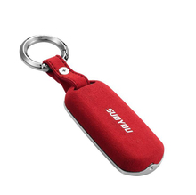 Luxury Car Key Case Cover Genuine Leather Galvanized Alloy For Mazda CX-4 CX-5 Axela Atenza 3 / 6 Car Styling Red Black Brown