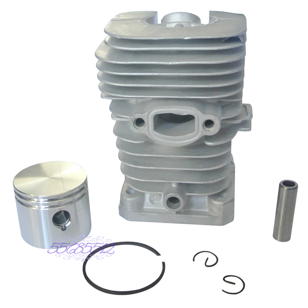 41mm Cylinder Spark Plug Piston Kit w /Rings Part Fit For Partner Chainsaw 350 351 цена