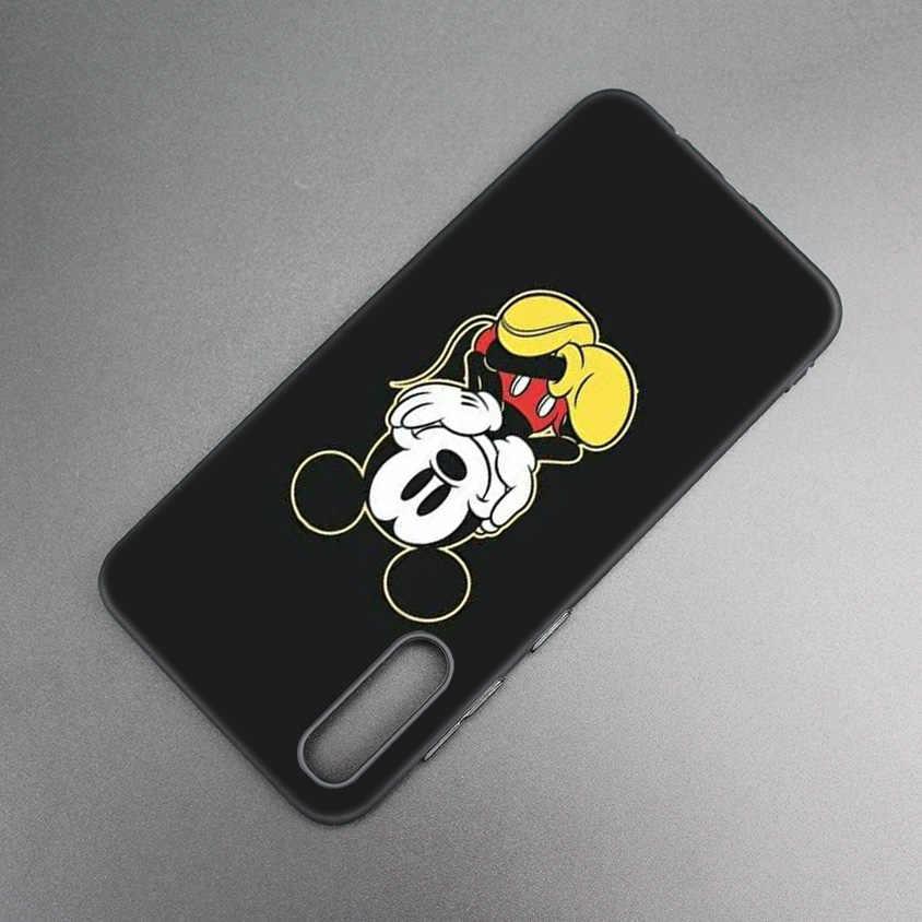Микки корпус для мыши для Xiaomi 9 8 A2 lite A1 играть xiomi Redmi Note 7 6 5 Pro 4X4 5 Plus Мягкий ТПУ чехол с принтом