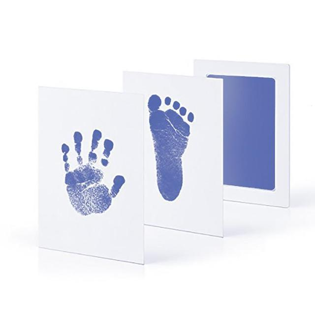 5 Colors Newborn Imprint Baby Handprint Footprint Non-Toxic Hand Inkpad Infant Souvenirs Gift for Toddler B4