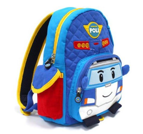Canvas Cartoon Backpack For Children School Bags For Teenagers Baby Kids Schoolbags Nursery Car Ruksack Satchel Bookbags