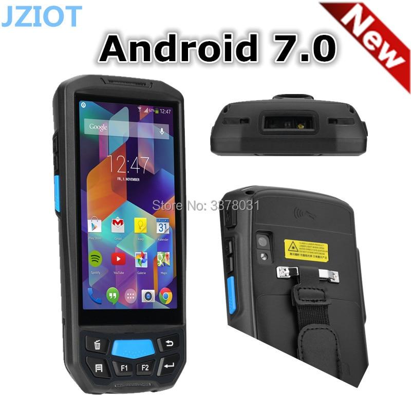 3g 4g Bluetooth Android Handheld Facturering Machine Met Printer Pda Draadloze Barcodescanner 2d Barcode Reader