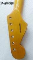 High Quality Electric Guitar Neck ST Model Yellow Neck