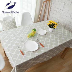NarwalDate Tablecloths Rectangular Table Cover Table Cloth