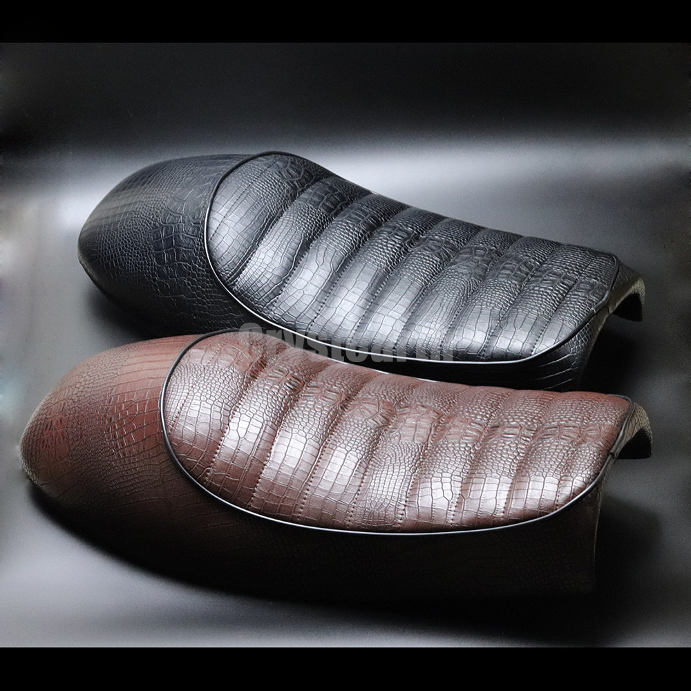 Motorcycle Hump Custom Vintage Saddle Cafe Racer Seat For Honda CB125S CB200 CB350 CL350 CB400 SR400 XJ XS 125S CL100 CL 350 450 32016 hot cafe racer flat seat retro vintage locomotive refit motorcycle leather black a cover high quality waterproof