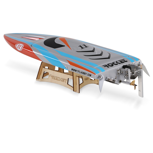 Clearance RC Boat 1111 Rocket 2.4G Racing 2958 Brushless 70A ESC Electric Water Cooling Speedboat Fibre Glass RC Boat