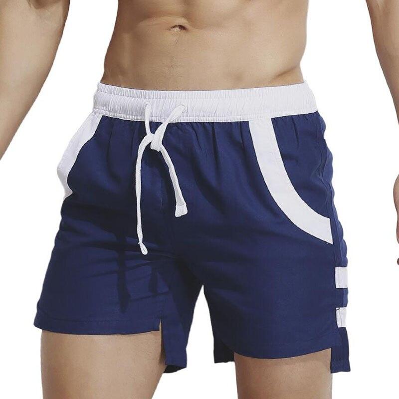 KWAN.Z   board     shorts   men brand personality   short   before long men's   short   swimwear stroj kapielo men homens beach   shorts   swimsuit