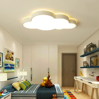 lustre de plafond moderne Clouds Modern Led Ceiling Lights For Bedroom Study Room Children Room Kids Rom Cartoon Children Lights