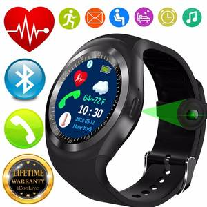 dceb678e6 Best Bluetooth Heart Rate Monitor Blood Pressure Smart Watch for Kid Men  Women